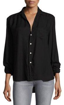 Frank And Eileen Eileen Long-Sleeve Button-Front Cotton Shirt