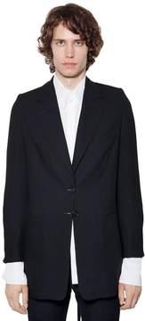 Ann Demeulemeester Virgin Wool Jacket W/ Ties