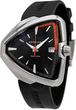 Hamilton Ventura Elvis80 Black Dial Men's Quartz Watch