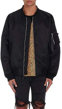 Alpha Industries MEN'S ROOSTER-EMBROIDERED BOMBER JACKET