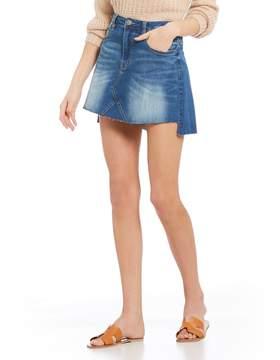 Chelsea & Violet C&V Mini Denim Skirt