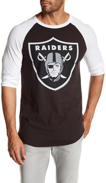 Junk Food Clothing Oakland Raiders Raglan Tee
