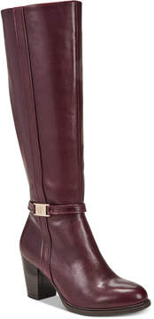 Giani Bernini Raiven Wide-Calf Memory Foam Dress Boots, Created for Macy's Women's Shoes