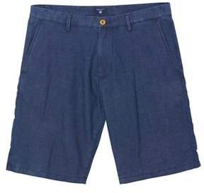 Gant Men's Blue Cotton Shorts.