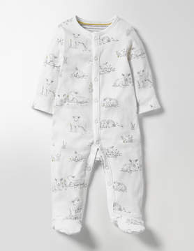 Boden Lambs Supersoft Sleepsuit