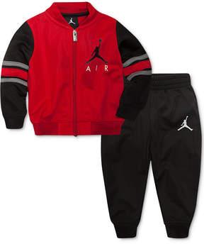 Jordan 2-Pc. Classic Varsity Jacket & Pants Set, Little Boys (4-7)