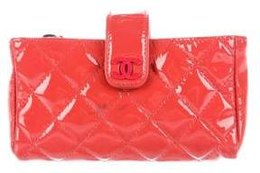 Chanel Quilted O-Phone Holder