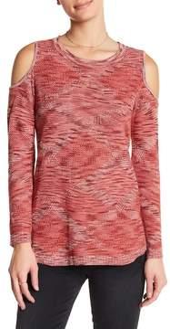 Democracy Diamond Cold-Shoulder Sweater