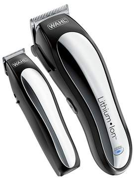 Wahl Lithium Ion Pro Men's Cordless Haircut Kit with Finishing Trimmer & Soft Storage Case-79600-3301