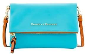 Dooney & Bourke City Foldover Zip Crossbody Shoulder Bag - CALYPSO - STYLE