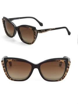 Roberto Cavalli 55MM Cats Eye Sunglasses