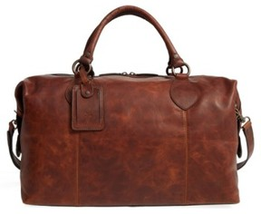 Frye 'Logan' Leather Overnight Bag - Brown (Online Only)