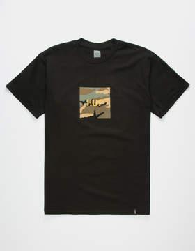 HUF Ambush Camo Box Logo Mens T-Shirt