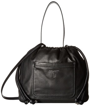 Marc Jacobs Tied Up Hobo Hobo Handbags - BLACK - STYLE