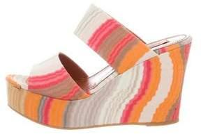 Missoni Platform Wedge Sandals