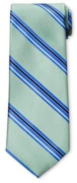 Merona Men's Thin Stripe Green NeckTie Green