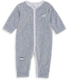 Kissy Kissy Baby's Freight Train Reversible Playsuit