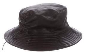 Hermes Chapeaux Motsch x Calfskin Bucket Hat