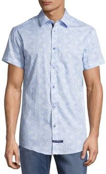English Laundry El Cotton Button-Down Shirt
