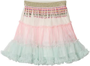Billieblush Pink and Pale Green Ombre Tutu Skirt