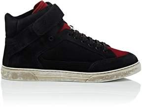 Saint Laurent Men's Max Suede Sneakers