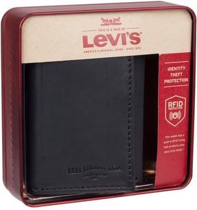 Levi's Levis Men's RFID-Blocking Extra-Capacity Trifold Wallet