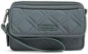 Vera Bradley RFID All in One Wallet Cross-Body Bag - CHARCOAL - STYLE