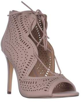 Call it SPRING Asoniel Peep-toe Lace-up Sandals, Light Pink.