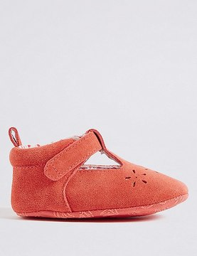 Marks and Spencer Baby Slip-on Cut Pram Shoes