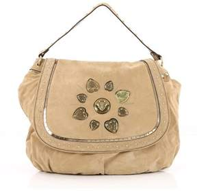 Gucci Pre-owned: Irina Babouska Shoulder Bag Suede. - NEUTRAL - STYLE