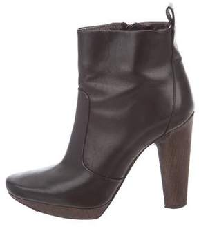 Calvin Klein Collection Platform Ankle Boots