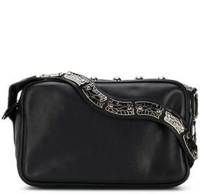RED Valentino RED(V) snake strap bag