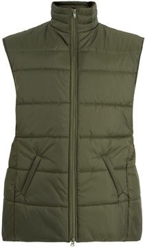 Martine Rose Logo-embroidered quilted gilet