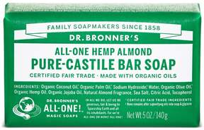 Dr. Bronner's Almond Castile Bar Soap by 5oz Bar)