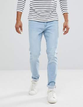 MANGO Man Slim Jean In Light Wash
