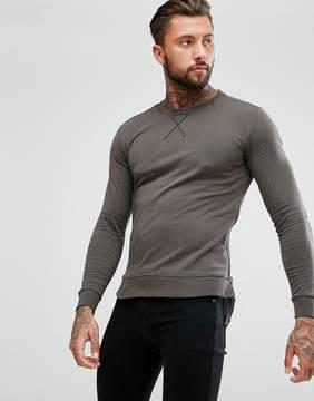 Replay Long Sleeve Top Side Zips