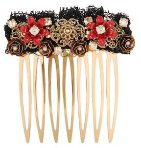 Dolce & Gabbana Exclusive to mytheresa.com – embellished hair comb