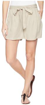 Bobeau B Collection by Bianca Self Belt Shorts Women's Shorts