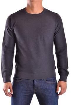 Armani Collezioni Men's Grey Wool Sweater.