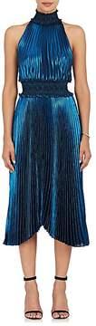 A.L.C. Women's Kravitz Lamé Halter Dress