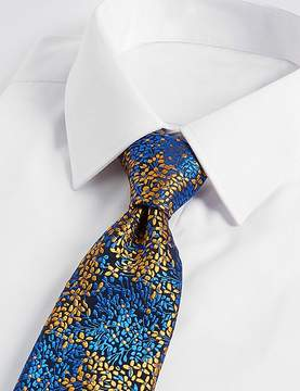 Marks and Spencer Pure Silk Floral Print Tie