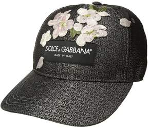 Dolce & Gabbana Jacquard Baseball Cap Caps