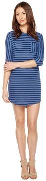 Alternative Skipper Eco-Jersey Yarn Dye Stripe Dress Women's Dress