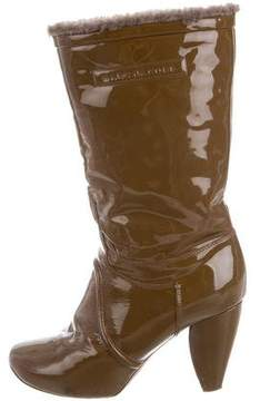 Marc Jacobs Patent Mid-Calf Boots