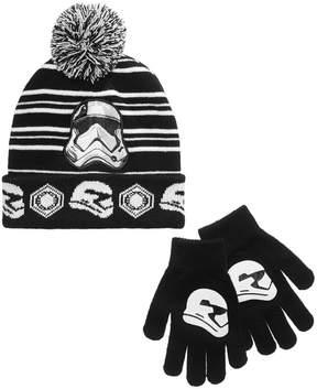 Star Wars 2-Pc. Hat & Gloves Set, Little Boys (2-7) & Big Boys (8-20)
