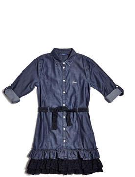 GUESS Chambray Shirtdress (7-16)