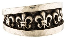 Chrome Hearts Graduated Band Ring