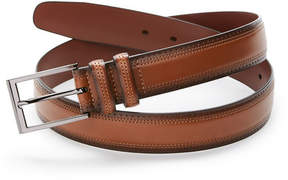 Perry Ellis Wilson Perforated Leather Belt