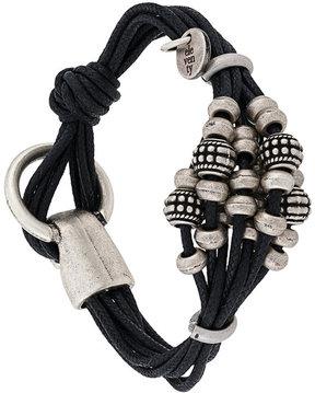 Eleventy embellished rope bracelet