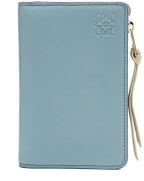 Loewe Bi-colour leather cardholder